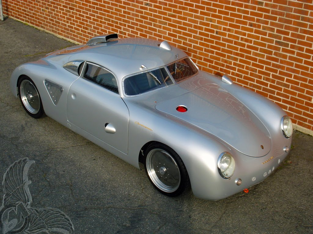 Porsche Type 64 Panamera And Type 356 Bikermetric