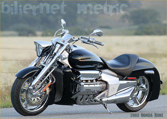 ... machine to six years ago - the honda vtx 1800 concept 2 - bikerMetric