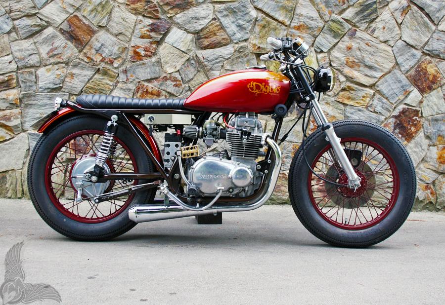 1975 Kawasaki Kz400 Tracker