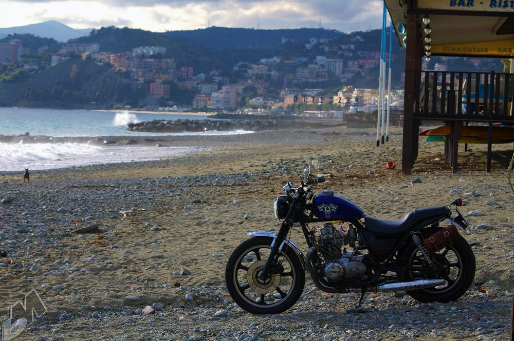 Garage Built Kawasaki Kz400 Bobber From Italy