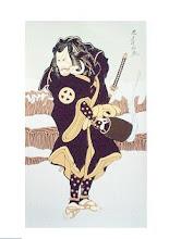 53. Samurai 30 x 52 cm
