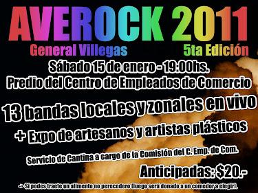 5º edición del AVEROCK