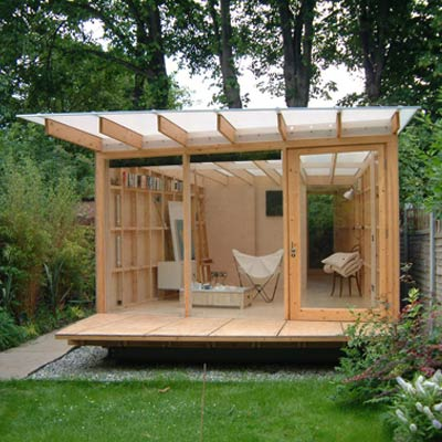 Salma kadir blog blog blog garden shed for Garden house office