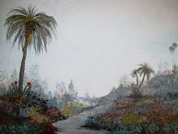 Palms in a Garden