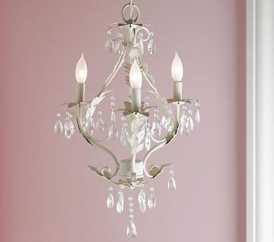 Pink chandelier for kids room chandelier online for Kids room chandelier