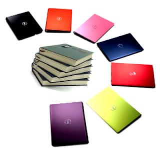 Foto de libros e portátiles