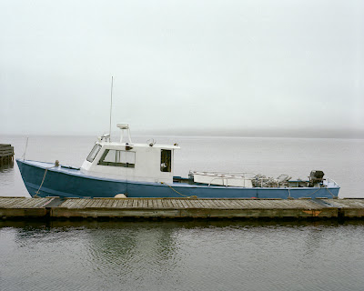 Boat in Meldrum Bay