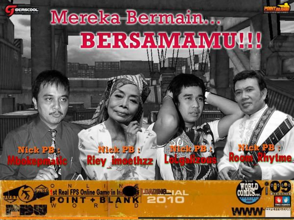 gambar point blank character. foto point blank lucu. point
