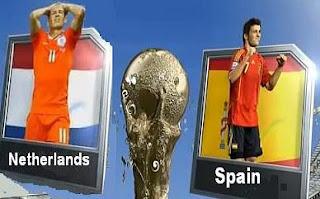 مشاهدة مباراة اسبانيا وهولندا بث مباشر نهائي كاس العالم 2010