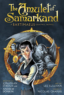 bartimaeus+graphic+novel Fantasy series get graphic