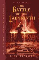 The Battle of the Labyrinth by Rick Riordan front cover