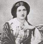 Isabella Beeton black and white photograph