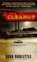 The Cleanup by Sean Doolittle front cover
