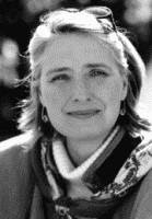Louise Penny black and white photograph