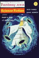 The Magazine of Fantasy and Science Fiction April 1966 front cover