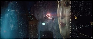 Blade Runner movie color still photograph