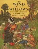 The Wind in the Willows by Kenneth Grahame illustrated by Michael Hague front cover