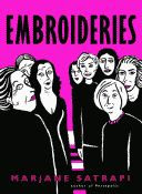 'Embroideries' by Marjane Satrapi paperback edition front cover