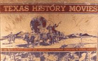 Texas History Movies 1935 horizontal long paperback white covered wagon cover edition