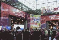 color photograph of the New York Comic-Con floor