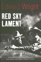 Red Sky Lament by Edward Wright front cover