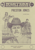 Preston Jones by Mark Busby front cover