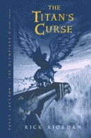 'The Titan's Curse by Rick Riordan front cover