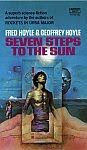The front cover of 'Seven Steps to the Sun' by Fred Hoyle and Geoffrey Hoyle.