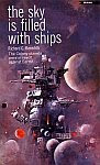 The front cover of 'The Sky is Filled with Ships' by Richard C. Meredith.