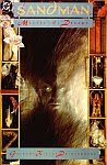 The front cover of 'Sandman, Master of Dreams', Sandman No. 1 January, 1989, cover art by Dave McKean and story by Neil Gaiman.