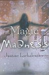 A color photo of the front cover of 'Magic or Madness' by Justine Larbalestier.