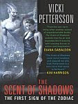A color photo of the front cover of 'The Scent of Shadows' by Vicki Pettersson.