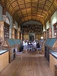 color photo of an interior view of Parker Library, Corpus Christi College, Cambridge