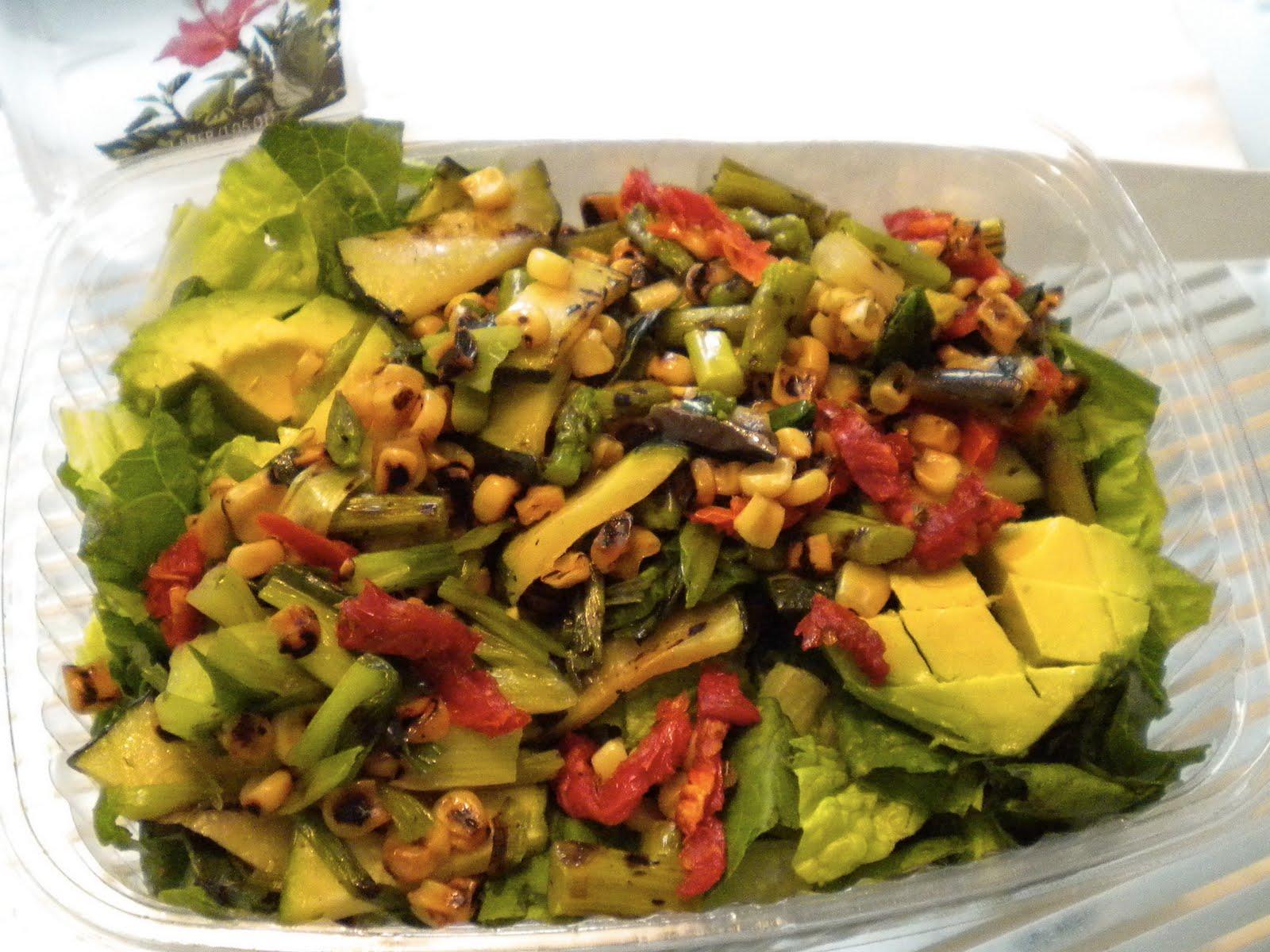 California Pizza Kitchen Recipes Roasted Vegetable Salad