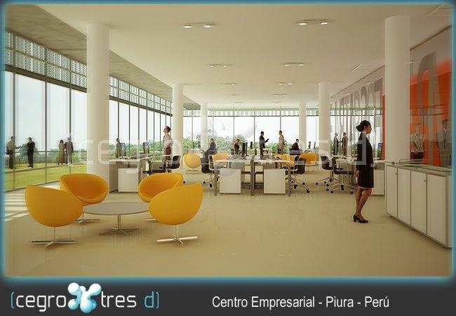 Centro Empresarial Piura - 1º Premio