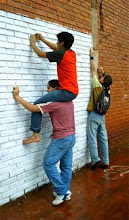 """Jóvenes de toda la Argentina participan del Proyecto """"Murales que hablan"""" de los CAJ"""