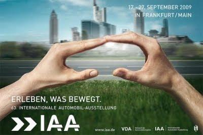 2009 - [Allemagne] Salon de Francfort IAA+2009+poster