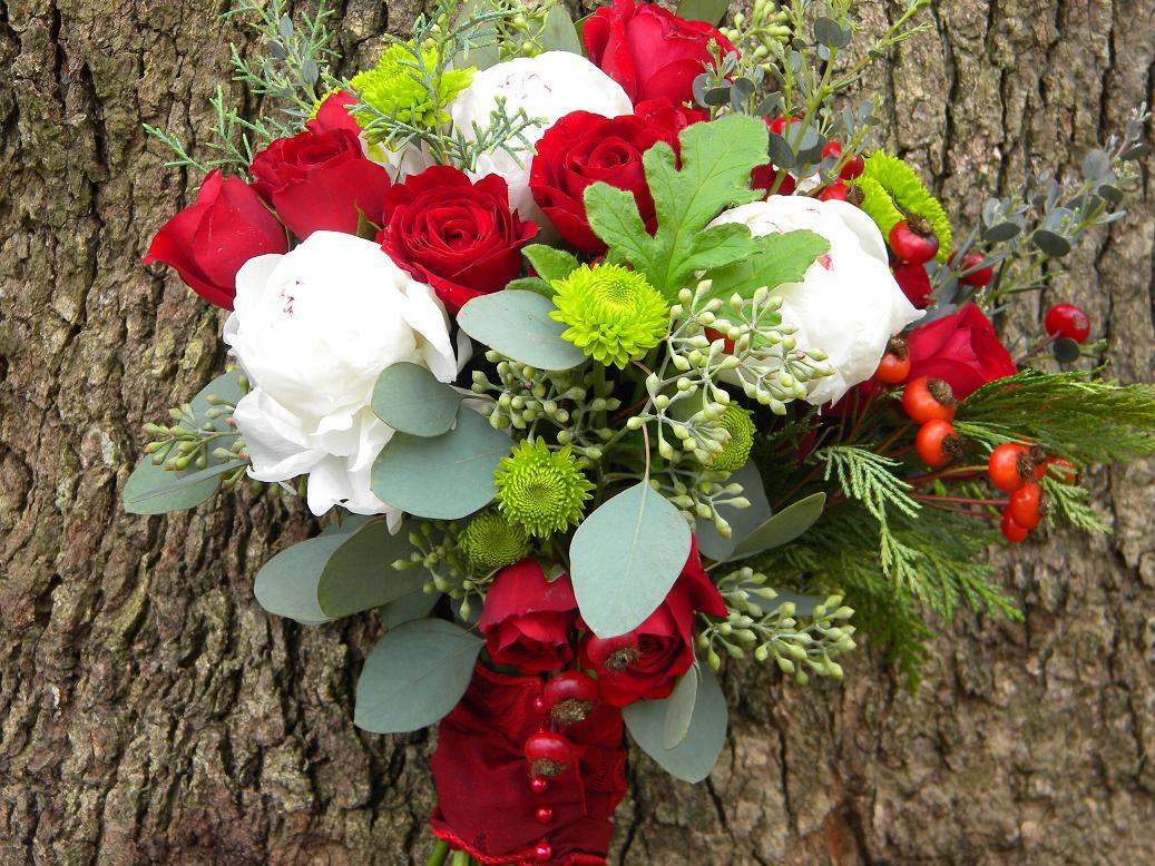 Wedding Flowers from Springwell December 2010