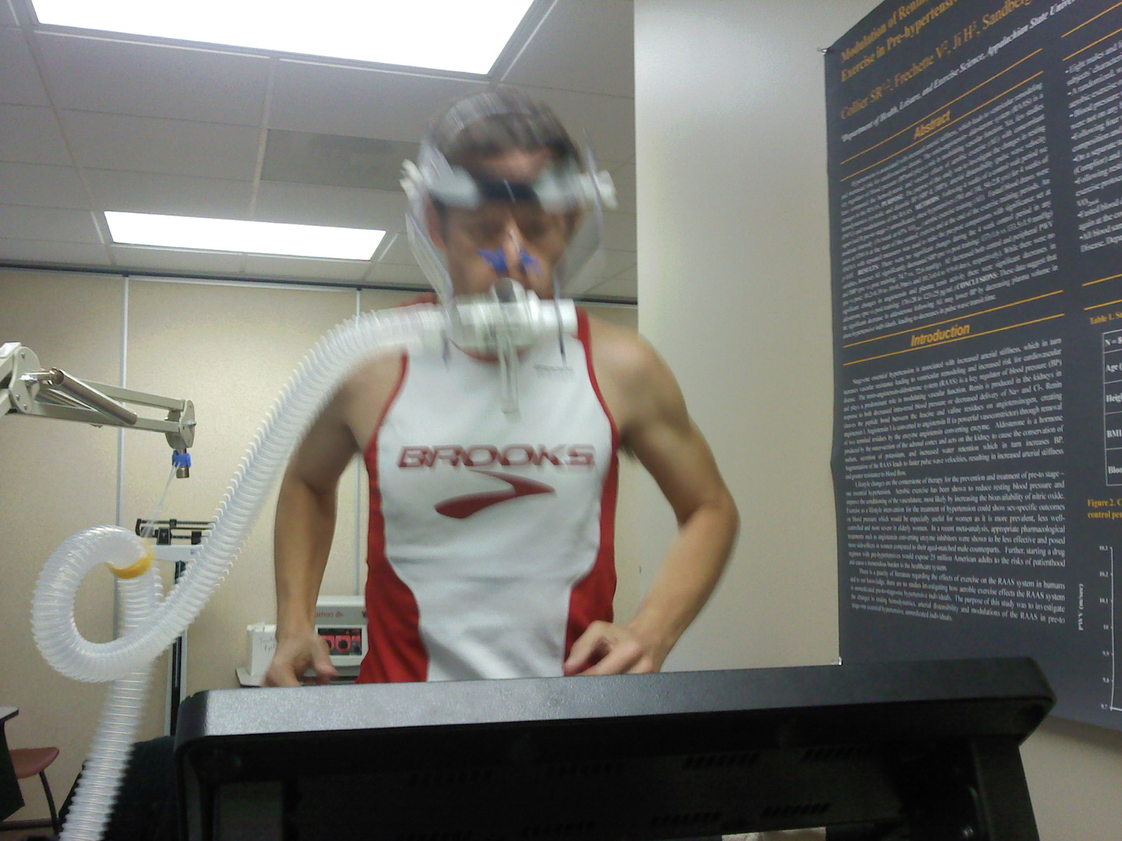 The Bruce Protocol Treadmill Test for Athletes pics