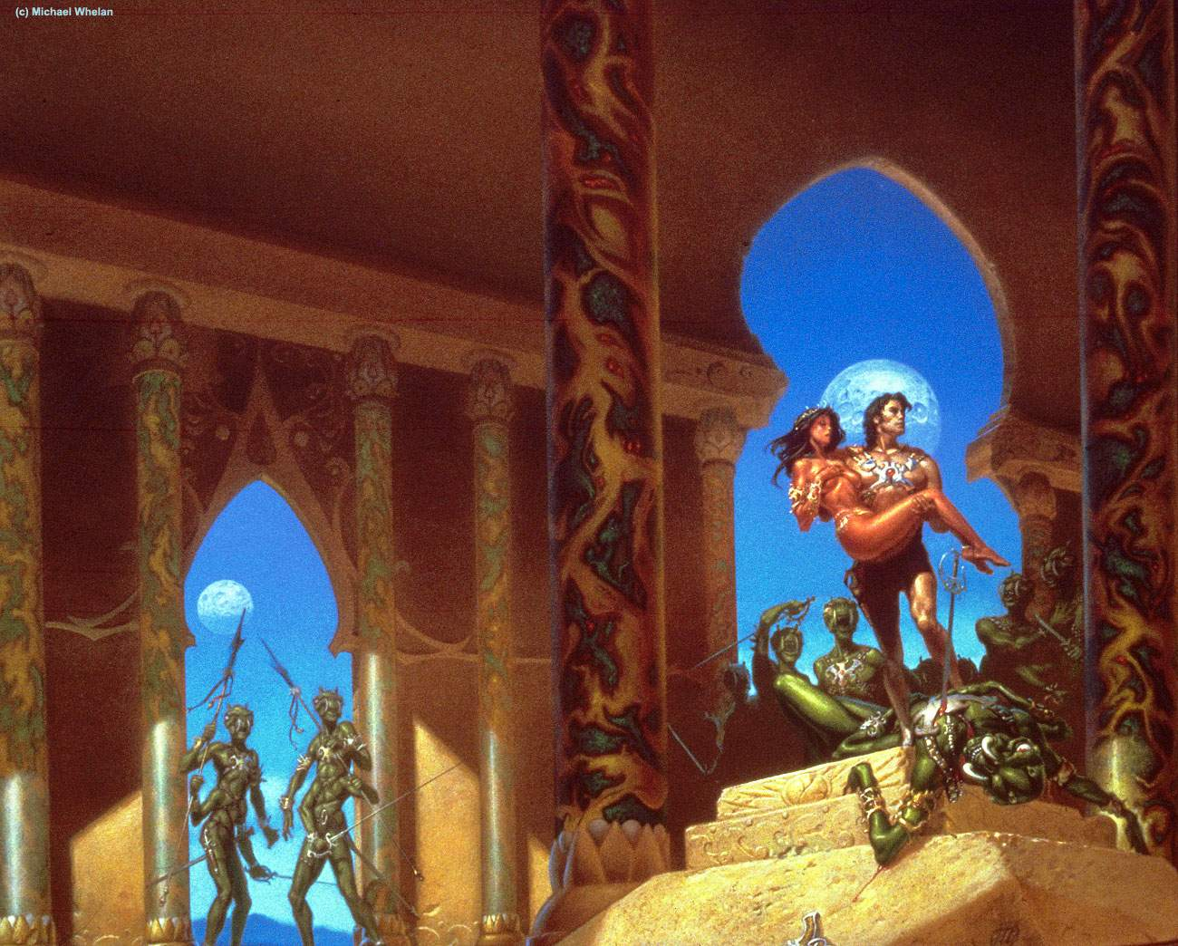 Princess of Mars (C) Michael Whelan