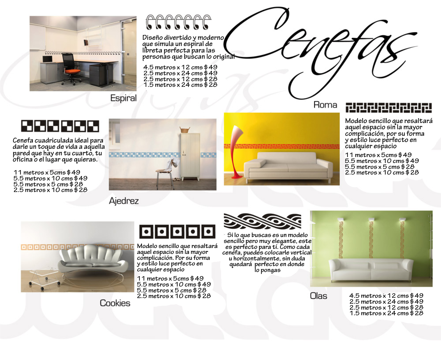 Guarda Para Baño Easy:Decoración con vinilo – Guardas para tus paredes ~ PlopUp