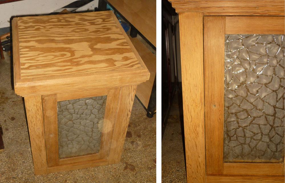 la brolerie la table de nuit de lo c. Black Bedroom Furniture Sets. Home Design Ideas