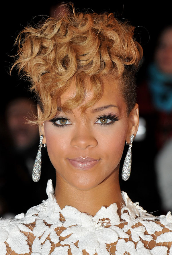 rihanna undercut hairstyle. of the hairstyle and when