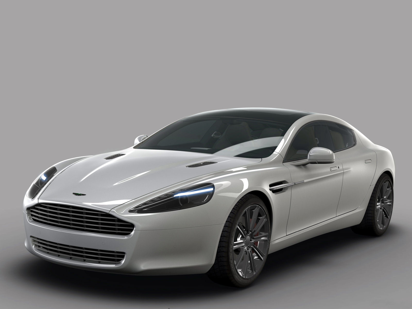 2010 Aston Martin  Rapide Wallpaper