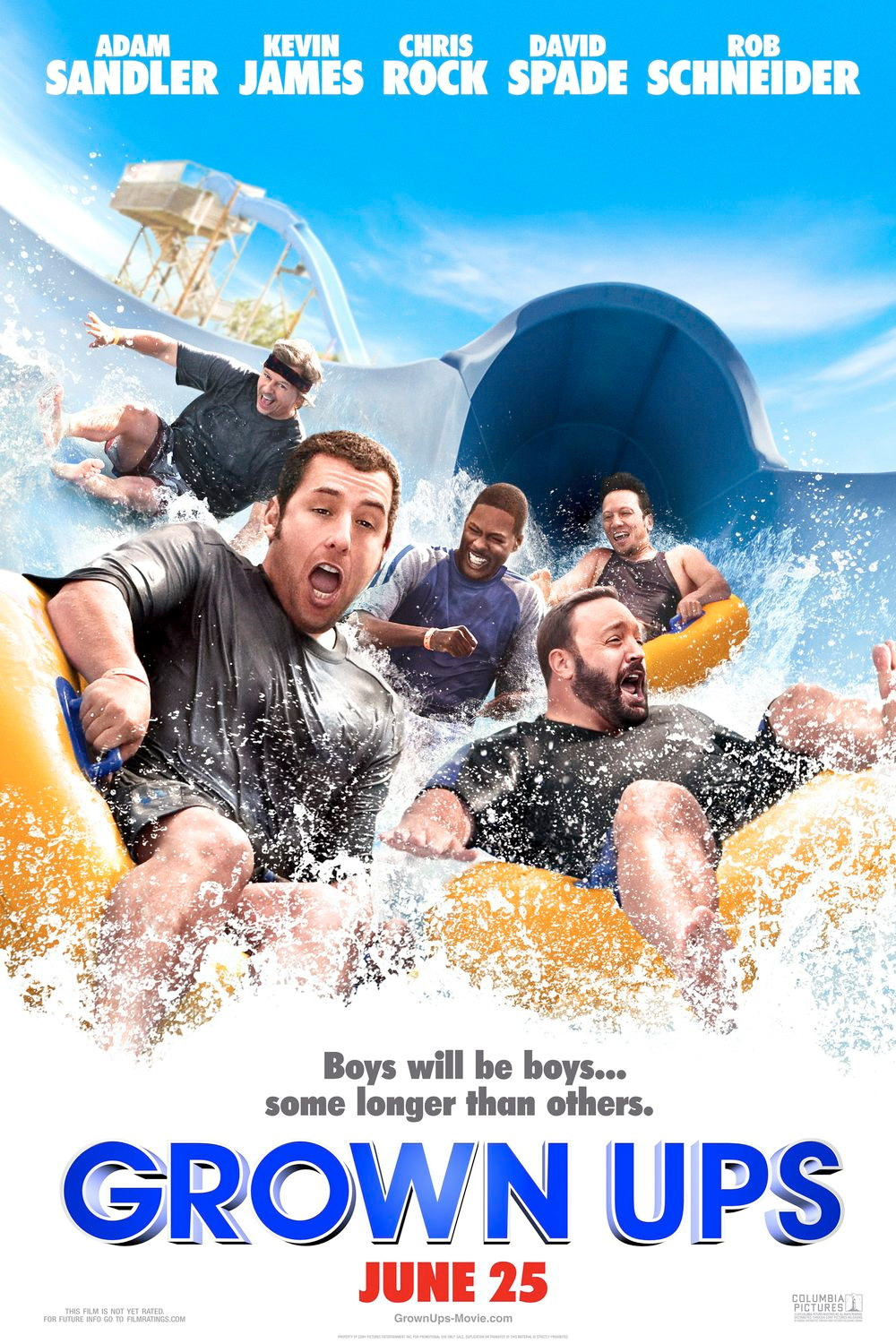 Grown Ups movie Poster