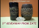 1st GIVEAWAY from ZATI