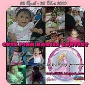 CUTE PINK BABIES CONTEST