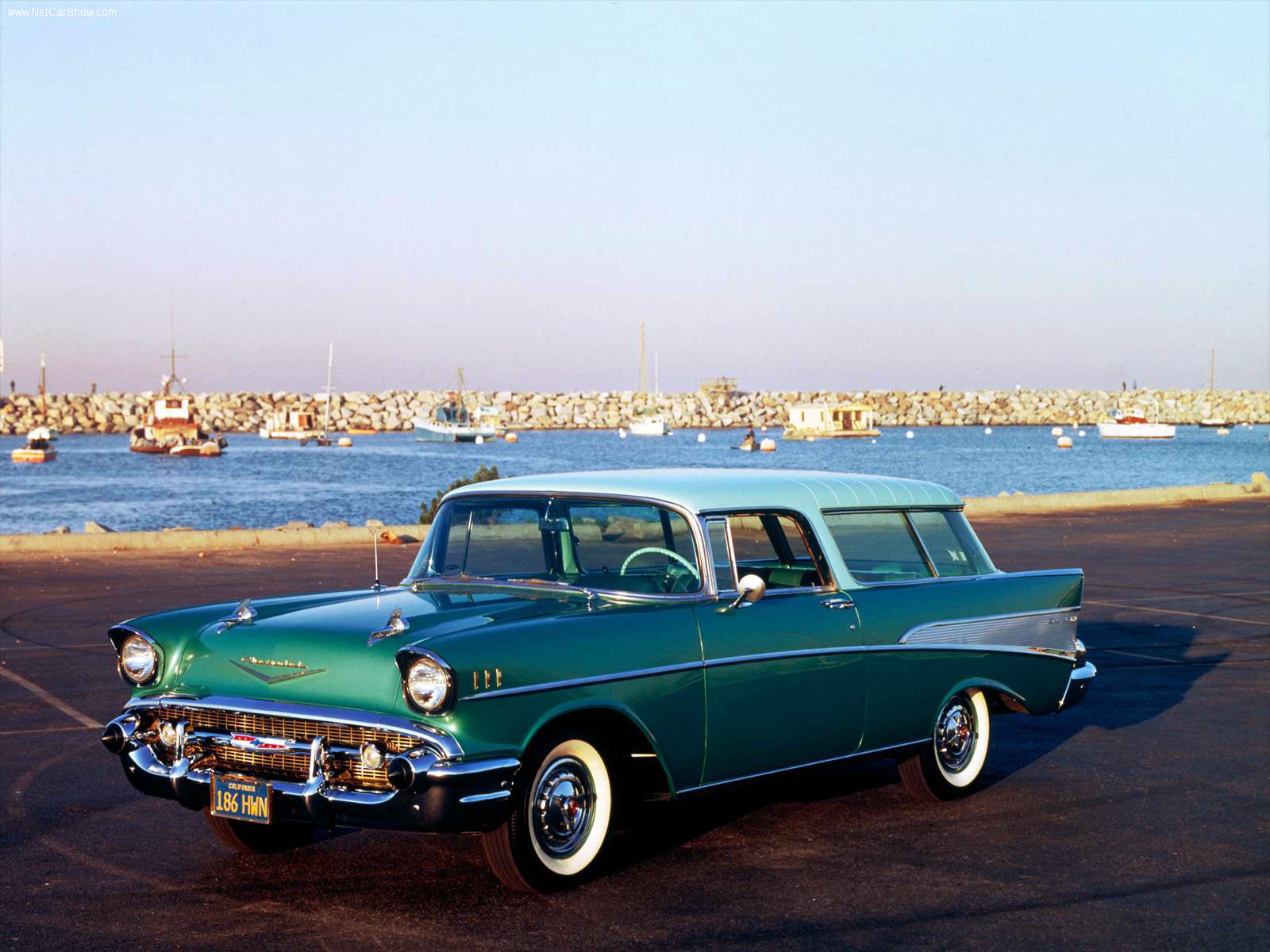 transpress nz  1957 Chevrolet Nomad
