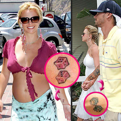 britney tattoo