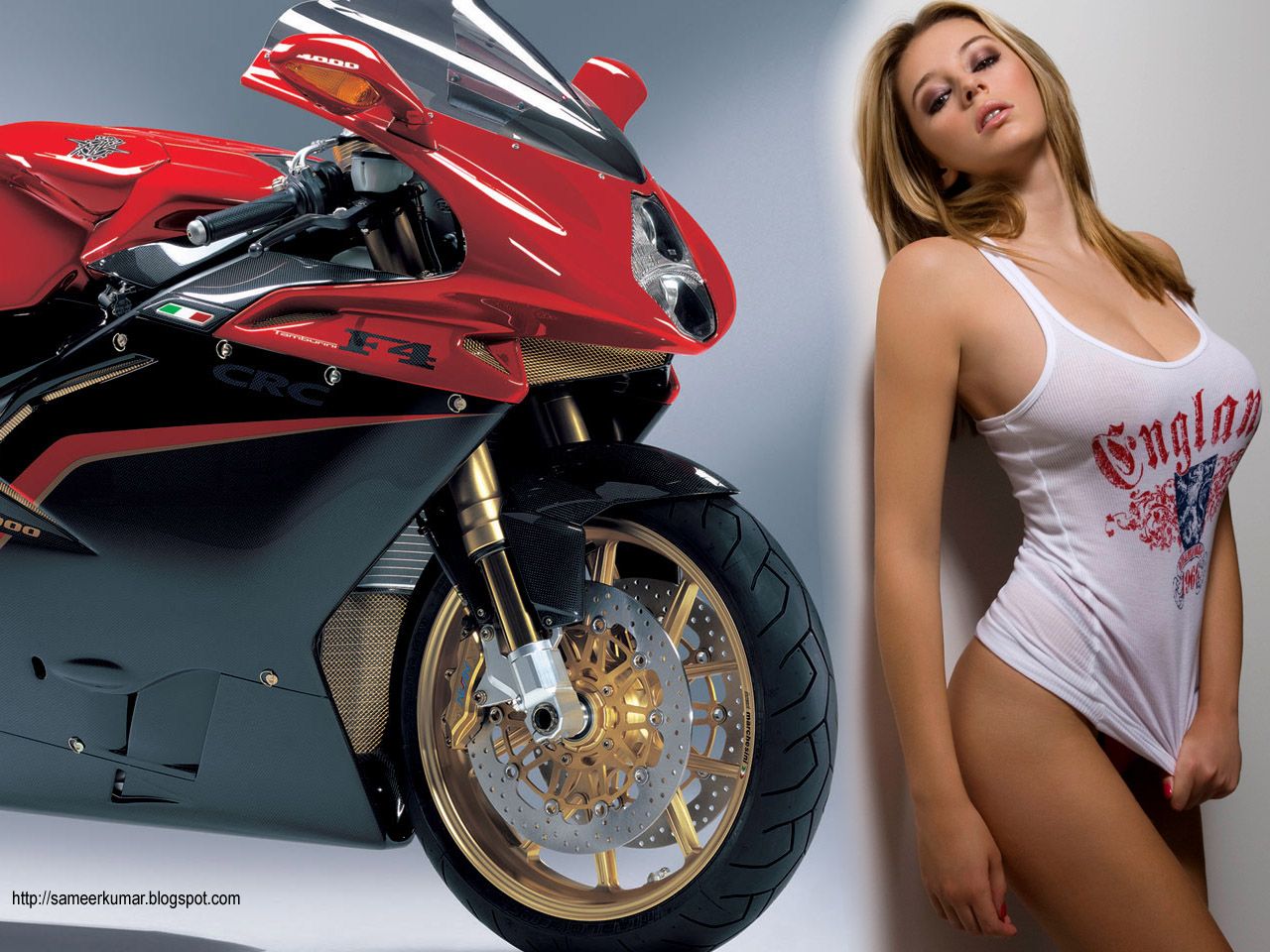 World Super Bikes  fast motorcycles girls